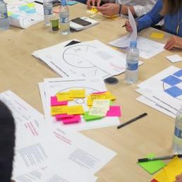 Sesión de ideación con el equipo de Quirónsalud en Madrid. Legridd